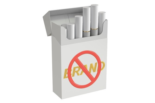 Plain packaging of cigarette packs to reduce consumption